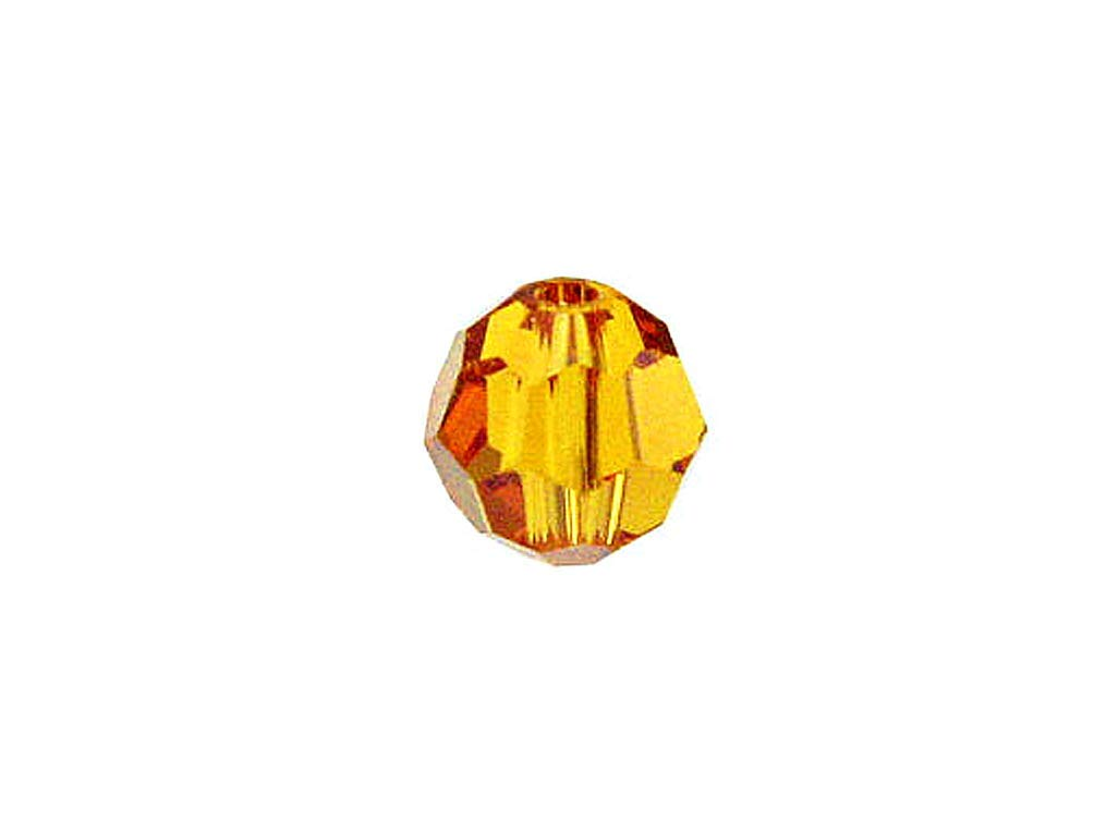 1089fc997 Swarovski 5000 Round Crystal Faceted Beads Topaz | 10mm | Small & Wholesale  Packs