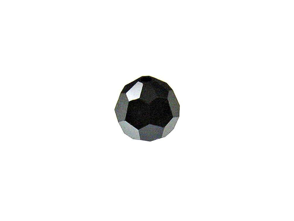 7b0f4f807d573 Swarovski 5000 Round Crystal Faceted Beads JET Hematite | 6mm | Small &  Wholesale Packs