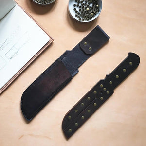 Two Pronged Tawse and Holster