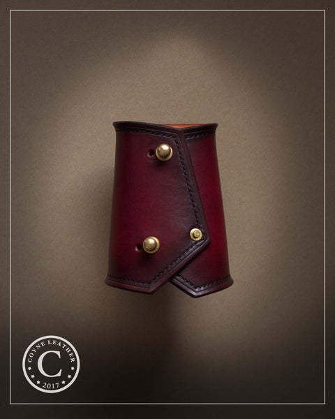 Custom Order: Leather Bracer