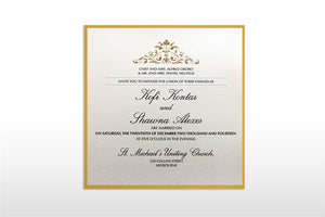 NANA Wedding Invitation