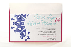 CHIPO WEDDING INVITATION