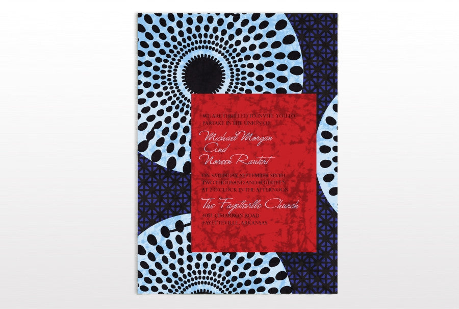 TITI WEDDING INVITATION