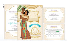 Load image into Gallery viewer, Medofo Ghanaian Traditional Wedding Invitation