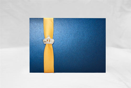 ELEGANT ROYAL WEDDING INVITATION
