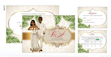 Load image into Gallery viewer, Fefeefe Ghanaian Traditional Wedding Invitation