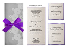 Load image into Gallery viewer, ZAINAB Wedding Invitation option 2