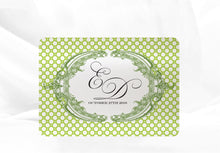 Load image into Gallery viewer, ORNATE FILIGREE  WEDDING INVITATION