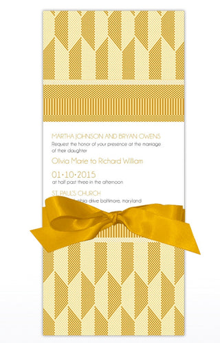 KISI WEDDING INVITATION