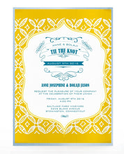 Load image into Gallery viewer, KUNTO WEDDING INVITATION