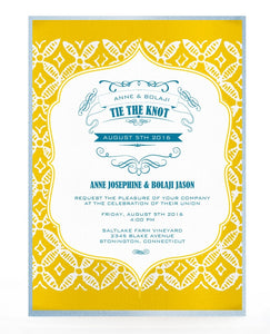 KUNTO WEDDING INVITATION