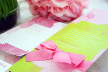 Load image into Gallery viewer, FARAA WEDDING INVITATION