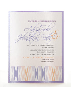 KIZI WEDDING INVITATION