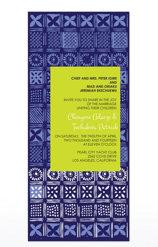 FADEKEMI WEDDING INVITATION