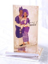 Load image into Gallery viewer, YORUBA TRADITIONAL WEDDING INVITATION PACK