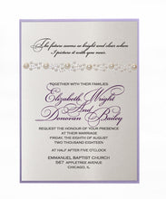 Load image into Gallery viewer, PEARL WEDDING INVITATION