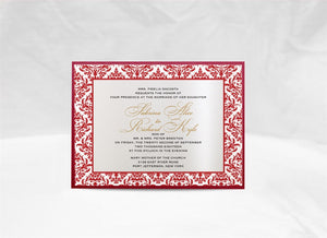 ROYAL WEDDING INVITATION