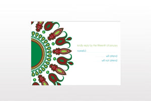 BOMA WEDDING INVITATION