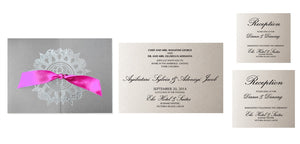 AISHA Wedding Invitation option 2