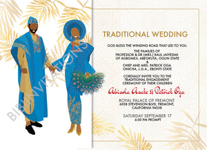 Irawo Mi- Yoruba Traditional Wedding Invitation
