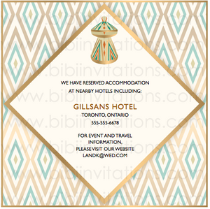 Ethiopian Downloadable Template Wedding Invitation