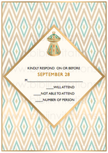 Load image into Gallery viewer, TIGISTI - Digital DIY African Wedding Invitation Template
