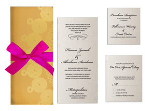 ZAINAB Wedding Invitation option 2