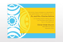 Load image into Gallery viewer, NAKI WEDDING INVITATION