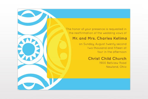 NAKI WEDDING INVITATION