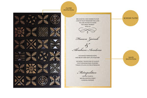 RIMIKE WEDDING INVITATION