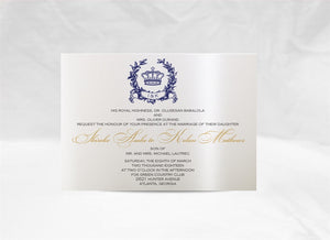 ROYAL WEDDING INVITATION OPTION2