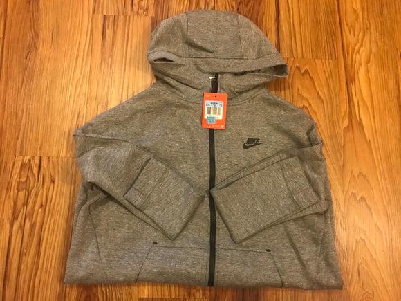 Nike Grey women's hoodie - size Medium
