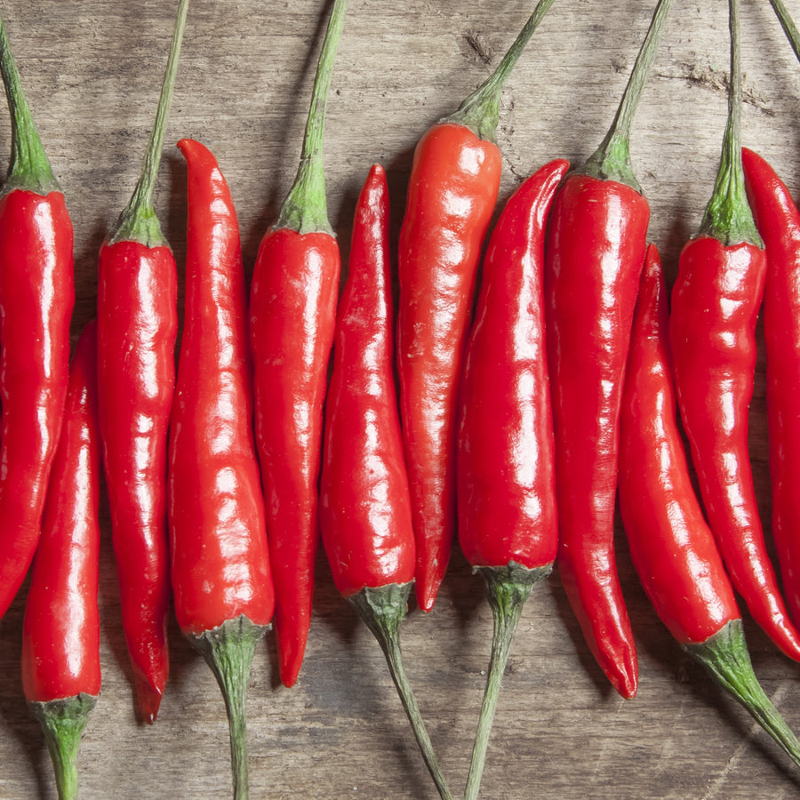 Organic Cayenne Thick Pepper