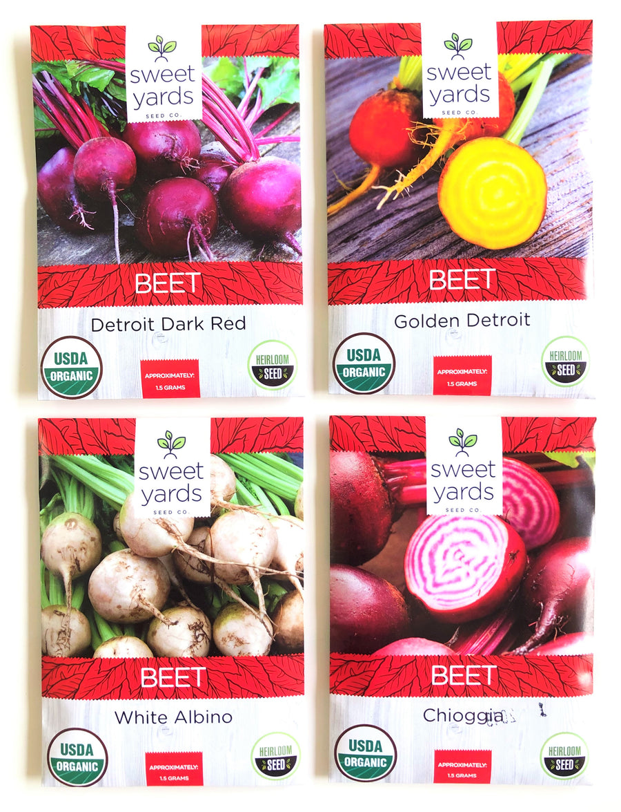 Beet Lovers' Heirloom Seeds Variety Pack