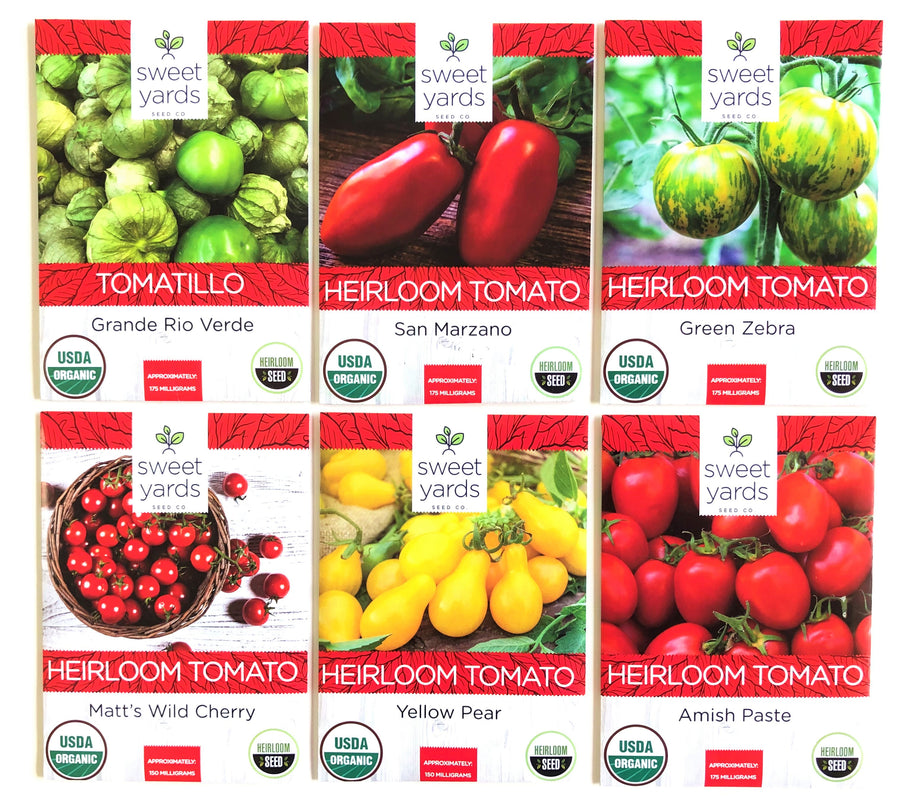 Cherry Tomato Seeds Variety Pack