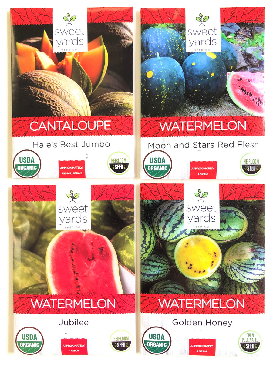 Melon Seeds Variety Pack