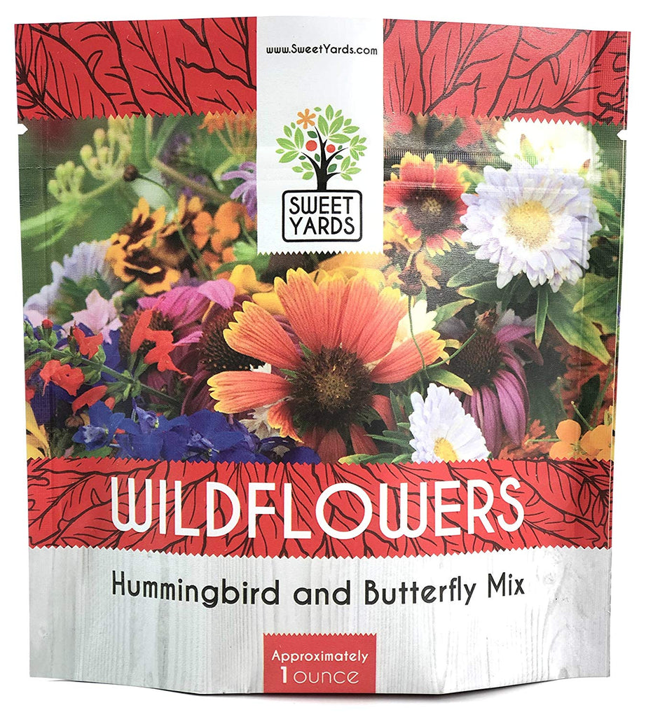 Hummingbird and Butterfly Wildflower Seed Mix