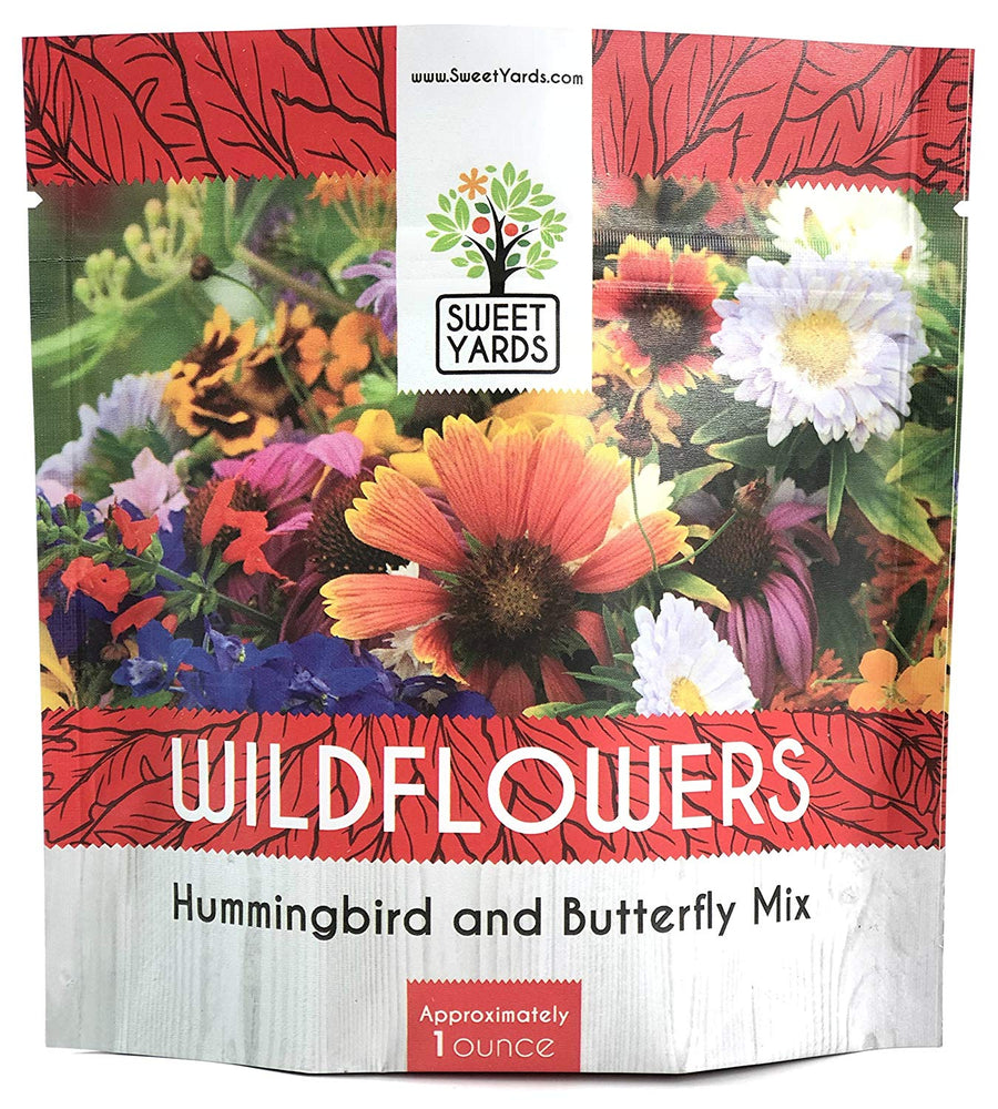 Hummingbird and Butterfly Wildflower Blend