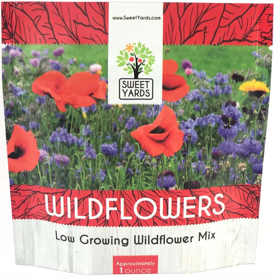 Low Growing Wildflower Blend