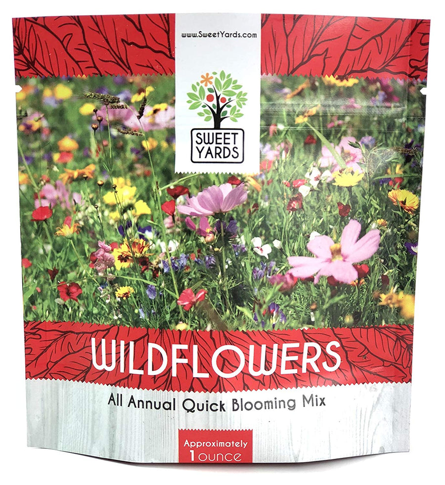 All Annual Quick Blooming Wildflower Mix