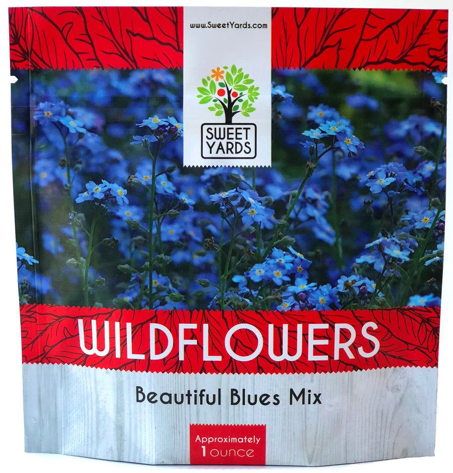Beautiful Blues Wildflower Blend