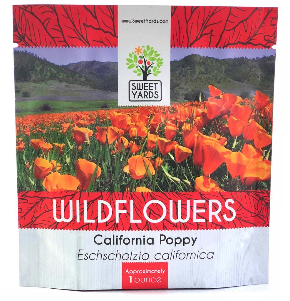 California Poppy Wildflower Seed Mix