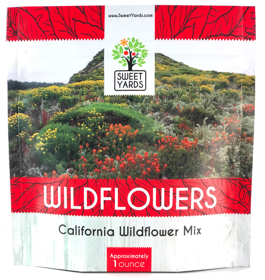 California Native Wildflower Seed Mix
