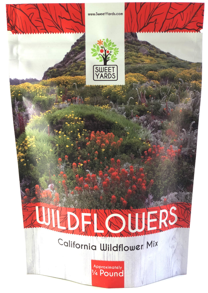 California Native Wildflower Blend