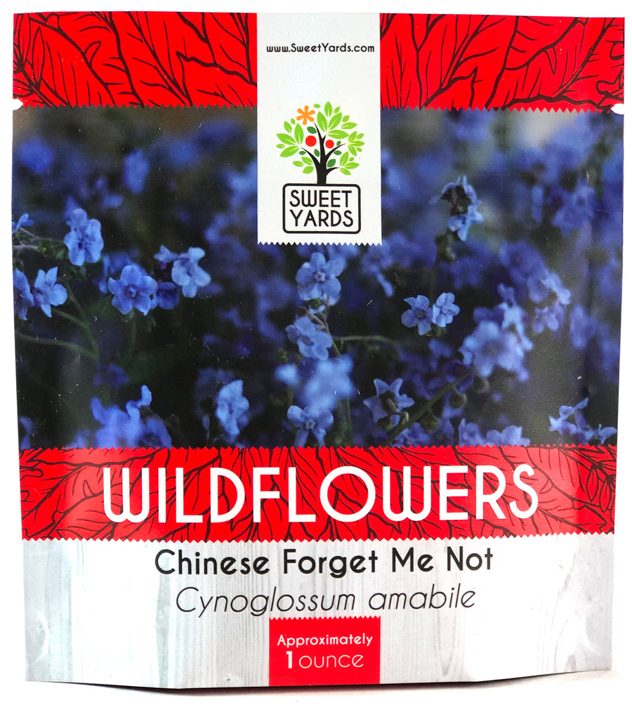 Chinese Forget Me Not Wildflower Seed Mix