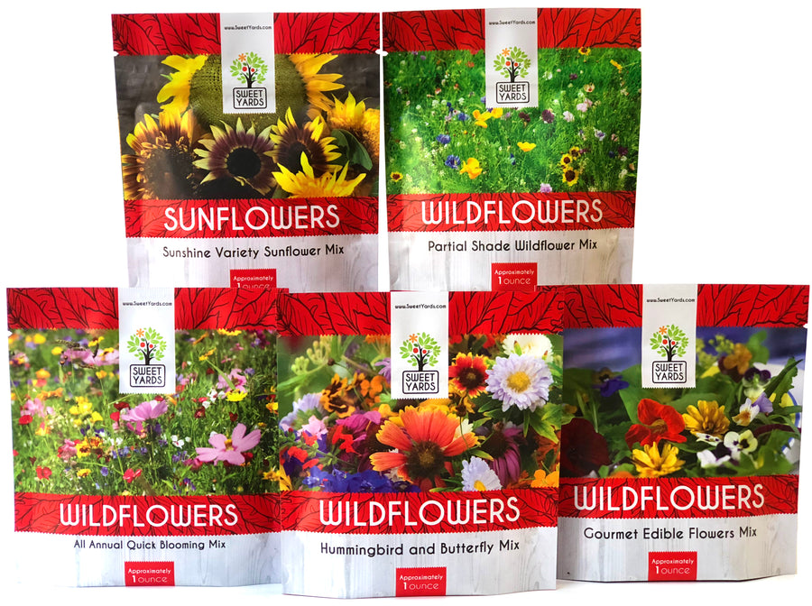 Wildflower Seed Mix Variety Pack