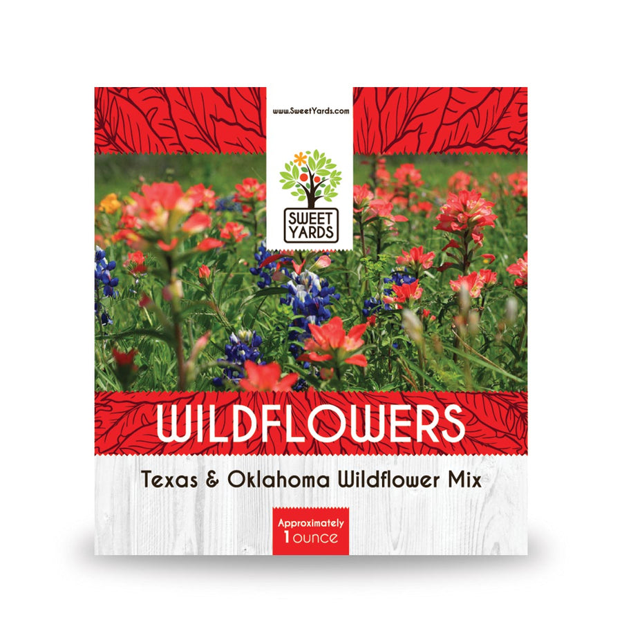 Texas and Oklahoma Native Wildflower Seed Mix