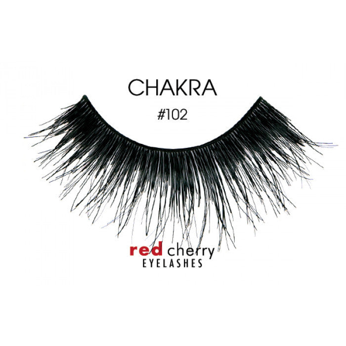 Red Cherry False Lashes #102 Chakra