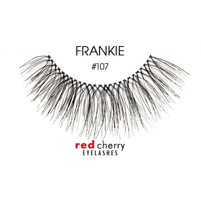 Red Cherry False Lashes #107 Frankie