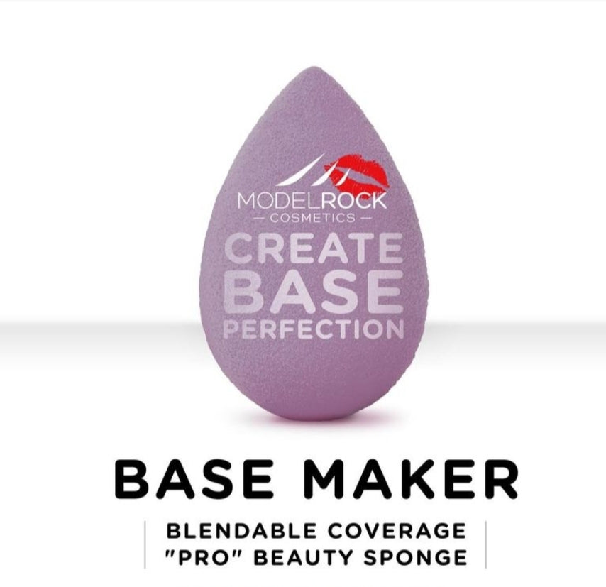 "BASE MAKER - Blendable Coverage ""Pro"" Beauty Sponge 1pk (LILAC)"